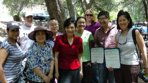 Judy Chu Earth Day Picnic